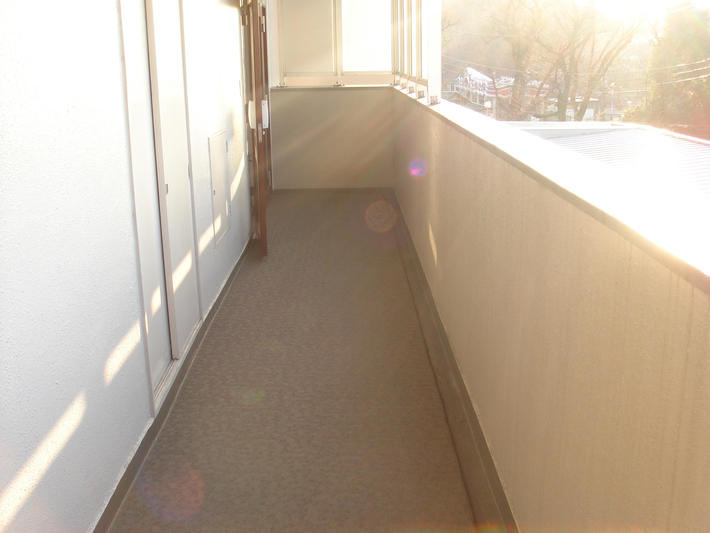 共用廊下 塗装・防水改修後